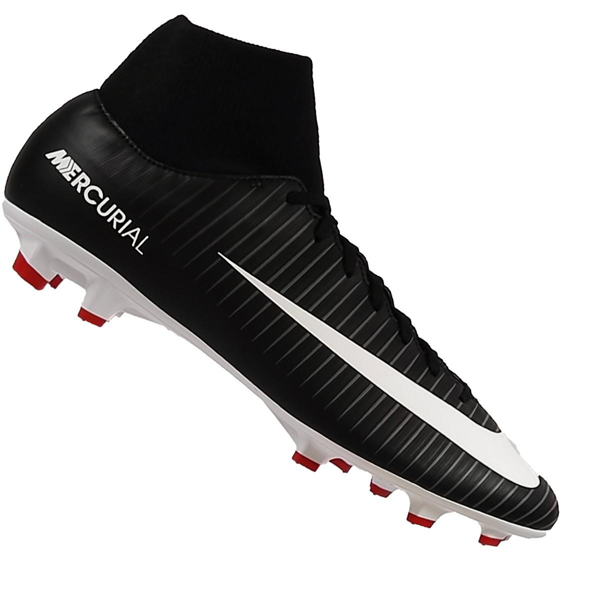 new concept ba00c a9c39 Nike Jr Mercurial Victory VI DF FG Kinder schwarz