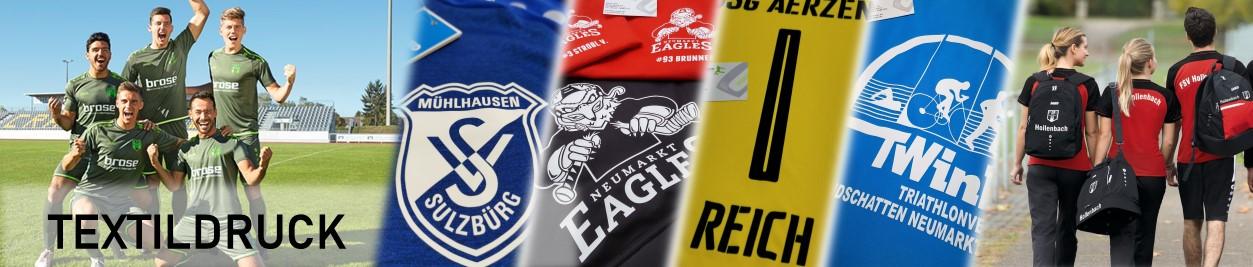 Fußball Textildruck