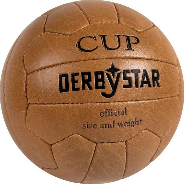 Derbystar Nostalgieball Cup braun schwarz Freizeitball