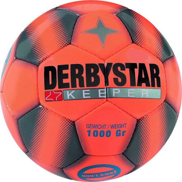 Derbystar Keeper orange grau Spezialball