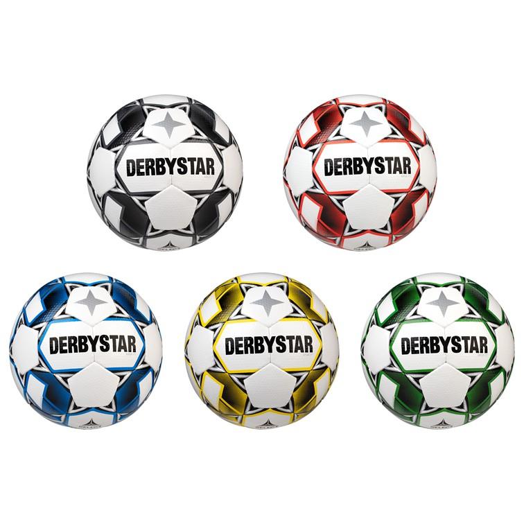 Derbystar Fußball Apus TT Trainingsball weiss|schwarz Herren  1154500120