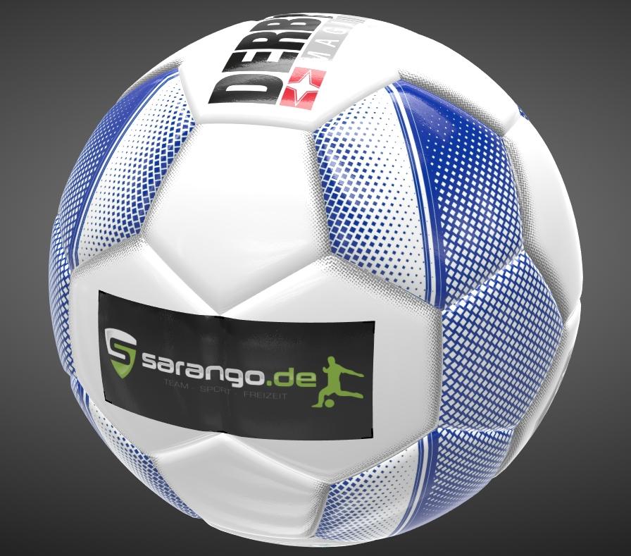Ball-mit-Logo-bedruckt