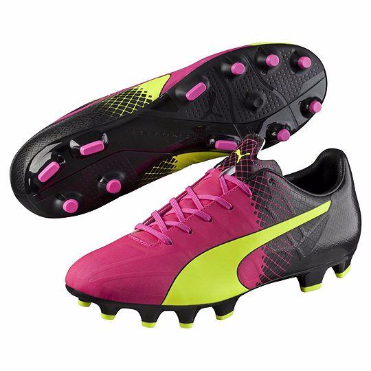 Puma evoSPEED 4.5 Tricks FG Gelb Pink