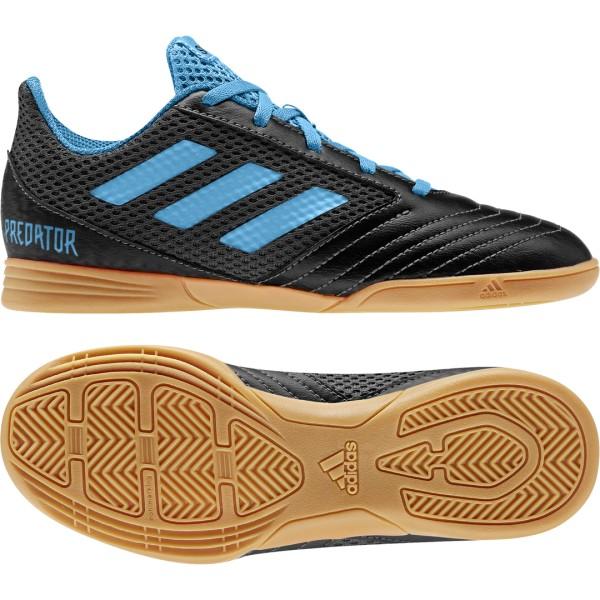 Adidas Predator 19.4 IN SA Hallenschuhe Kinder schwarz blau