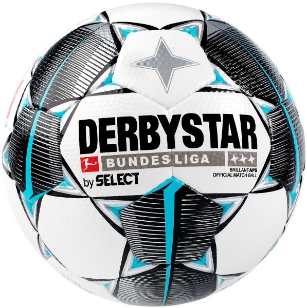 Derbystar Bundesliga Brillant Replica S-Light 19/20 weiß schwarz blau