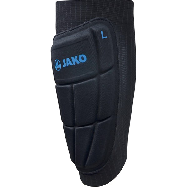 JAKO Schienbeinschoner Prestige Kevlar Combi schwarz/JAKO blau