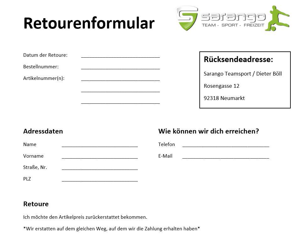 Reourenformular