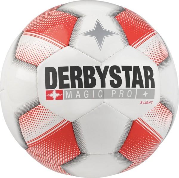Derbystar Magic Pro S-Light 290g Jugendball weiß rot