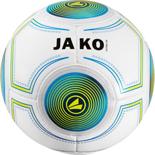 Jako Ball Futsal 3.0 Herren weiss blau gelb 420 g